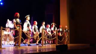 Peter Pan Jr. Pirate Yo Ho song - dance intro