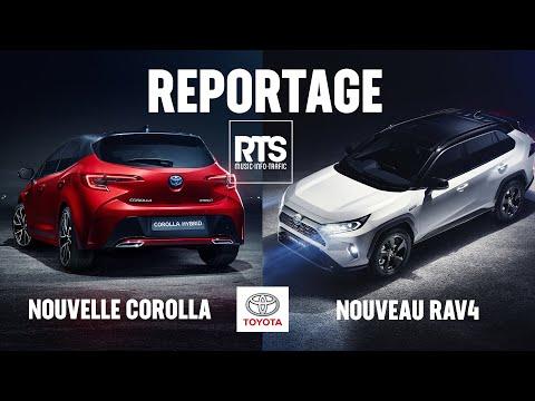 Reportage NOUVEAU RAV4 ET COROLLA 2019 EN EXCLUSIVITÉ !