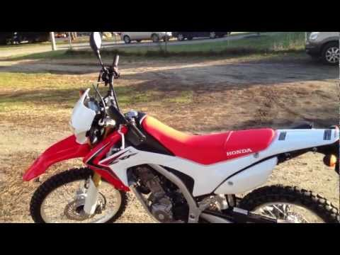 2013 Honda CRF250L Private Review USA (Not a Promo) Part-1