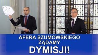 Afera Szumowskiego -Żądamy dymisji!