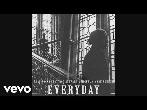 Everyday (Song) by ASAP Rocky, Mark Ronson, Miguel,  and Rod Stewart