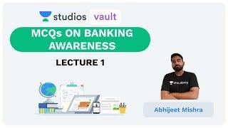 L1: MCQs on Banking Awareness I Best MCQs (Banking) I Abhijeet Mishra
