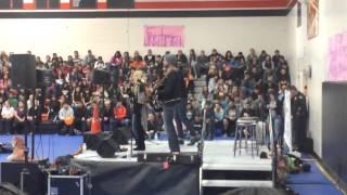 Danielle Bradbery sings 'Dance Hall' at CA High School