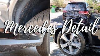 Disaster Mercedes Detail | Exterior & Interior | Kings Auto Detailing