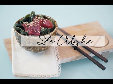 LE ALGHE (Wakame, Nori, Konbu) *PROPRIETA'*
