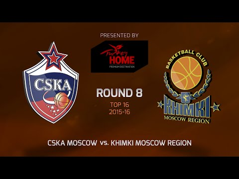 Highlights: Top 16, Round 8, CSKA Moscow 108-98 Khimki Moscow Region