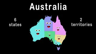 Australia States, Territories and Capitals