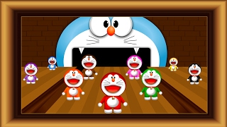 Learn colors with bowling Doremon. Videos for Toddler Babies Pre school Kids by Lotusbaby TV