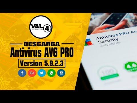 AVG antivirus full pro / Mejor antivirus 2017- 2018 para celular o tablet / val4