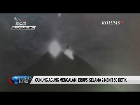 Gunung Agung Kembali Erupsi, Sejumlah Kabupaten di Sekitarnya Terpapar Hujan Abu