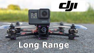 DJI FPV System Long Range Test FPV