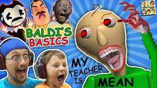 CRAZY SPANKING TEACHER!! Baldi