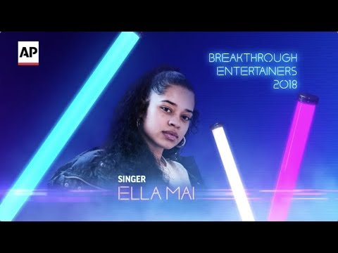 "Ella Mai's breakthrough year included an opening slot on tour for Bruno Mars, collaborations with Chris Brown, H.E.R. and Meek Mill and two Soul Train Awards - all while watching ""Boo'd Up"" bring R&B back to the pop charts. (Dec. 13)"