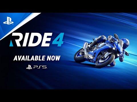 Trailler de lancement PS5 et Xbox Series X de Ride 4