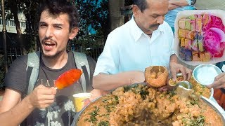 Bakın Hindistan'da Ne Yiyorlar?  Sokak Yemeklerini Nasıl? - MUMBAİ