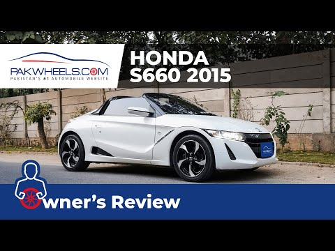 Honda S660 Turbo 2015 Owner's Review: Price, Specs & Features | PakWheels