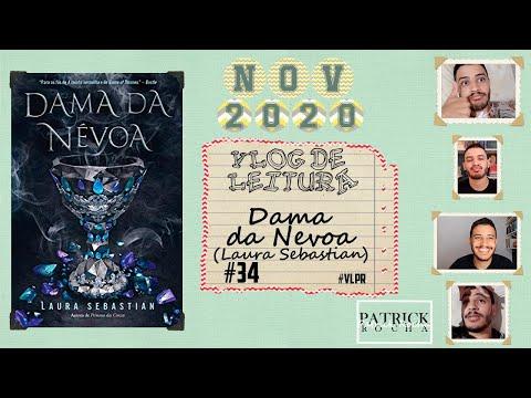 VLOG DE LEITURA: Dama Da Nevoa (Laura Sebastian) (VLPR #34) | Patrick Rocha
