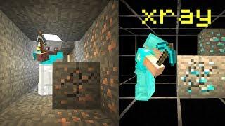 caught using xray on my Minecraft friends server