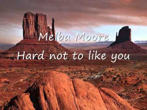 Melba Moore - It's hard not to like you.wmv
