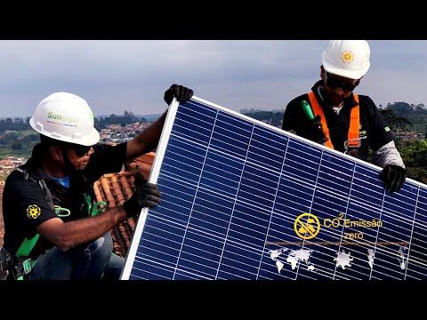 Instalação de Sistema Fotovoltaico - Sunergia | energia solar
