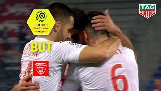 But Umut BOZOK (18') / SM Caen - Nîmes Olympique (1-2)  (SMC-NIMES)/ 2018-19