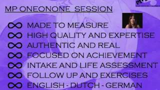 MP ONEONONE KEYNOTES THE SESSIONS  - COACHING/CONSULTING - GLOBAL & ONLINE
