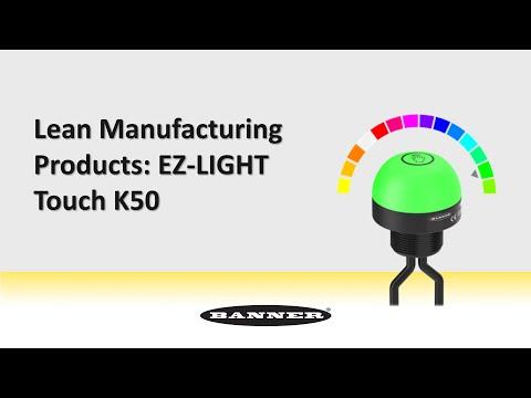 リーン生産方式用製品:EZ-LIGHT Touch K50