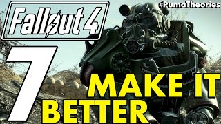 7 Ideas, Things that would make Fallout 4 Better and More Fun #PumaCounts