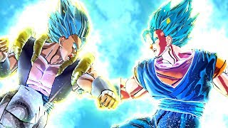 I Used Every Super Saiyan Blue Character In Dragon Ball Xenoverse 2