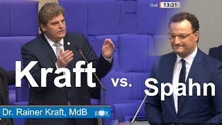 AfD wirkt! Nach Rückfrage von Rainer Kraft vertritt Jens Spahn plötzlich AfD-Positionen!