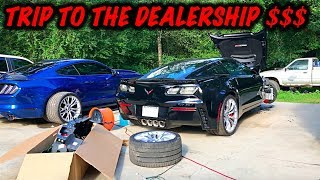 Rebuilding A Wrecked 2017 Corvette Z06 Part 3