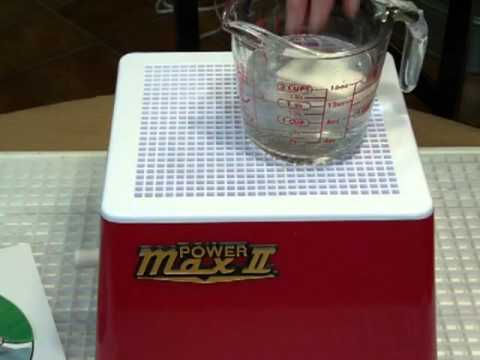How to Use the Power Max 2 Glass Grinder