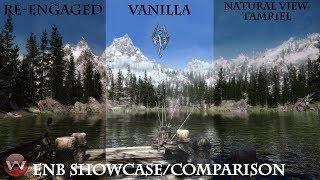NATURAL VIEW TAMRIEL ENB Showcase and Comparison