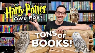 TONS Of NEW Harry Potter Books Unboxing