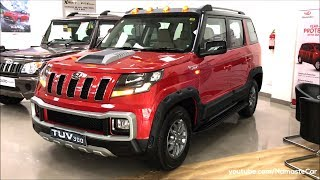 Mahindra TUV300 T10 Superstyler mHawk100 2018 | Real-life review