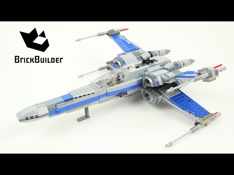 Vidéo LEGO Star Wars 75149 : X-Wing Fighter de la Résistance