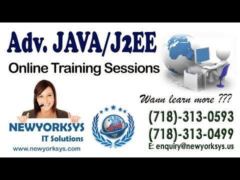 Java Online Training Tutorial | JAVA FREE DEMO Class Training Videos | Newyorksys