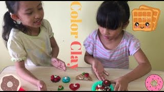 Filipino Toys Review - Waffle And Crispy Donuts Color Clay