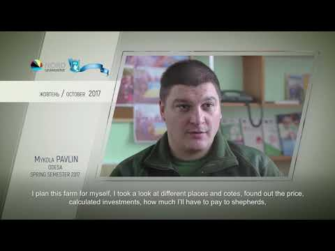 Video feedback of Mykola Pavlin, graduate of the Ukraine-Norway projec