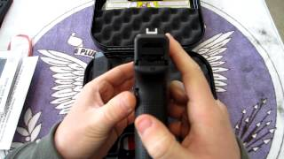 GLOCK 17 Gen4 9mm - UNBOXING!
