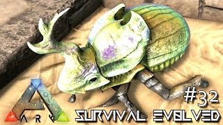 Ark Survival Evolved S2E31: DIMETRODON AND DUNG BEETLE