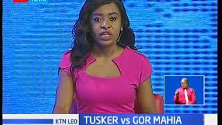 Gor mahia yatoka sare tasa kwa michuano dhidi ya klabu ya Tusker katika ligi kuu ya KPL