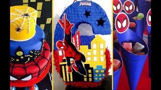 30 IDEAS PARA FIESTA DEL HOMBRE ARAÑA - SPIDERMAN PARTY IDEAS