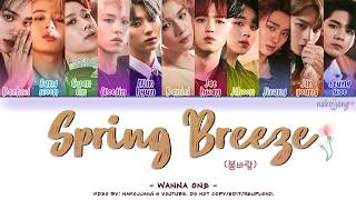 WANNA ONE (워너 원) - SPRING BREEZE (봄바람) (Kode Warna Lyrics Eng / Rom / Han / 가사)