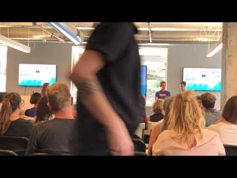 Jeffrey Donenfeld Giving Reverse Pitch @ Denver Startup Week 2019