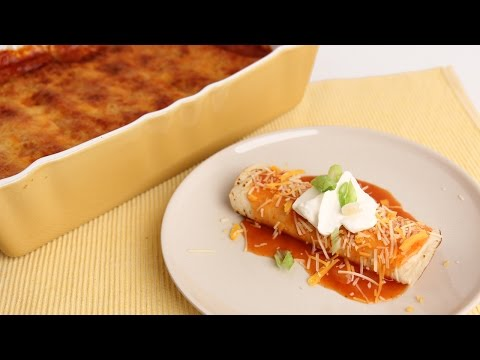 Chicken Enchiladas Casserole – Laura Vitale – Laura in the Kitchen Episode 817