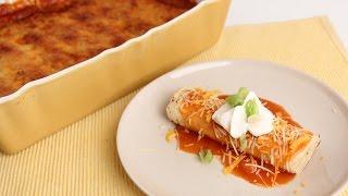 Chicken Enchiladas Casserole - Laura Vitale - Laura in the Kitchen Episode 817