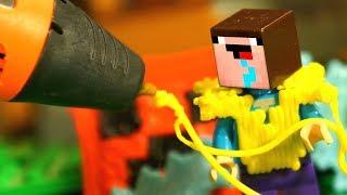 Лего НУБик Майнкрафт и 3Д РУЧКА DIY - Мультики Все Серии Подряд Мультфильмы для Детей СБОРНИК