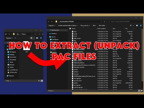 How To Extract (Unpack) PAC Files (PAC Firmware) - [romshillzz]