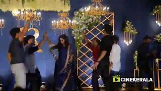 Sunny Wayne, Renjini Kunju, Roshan Abdul Rahoof Dance At Sunny Wayne Reception